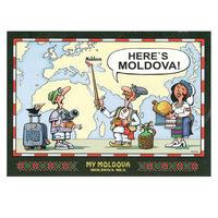 купить Набор почтовых открыток – MY MOLDOVA в Кишинёве
