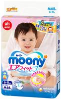 Подгузники Moony M (6-11 kg) 68 шт