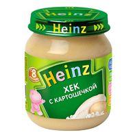 Heinz пюре хек с картошечкой 8+мес. 120г