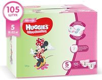 Подгузники Huggies Ultra Comfort Mega 5 Girl (12-22 kg) Disney BOX 105 шт