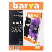 Бумага BARVA A4 190g 20p Doble Matt Inkjet