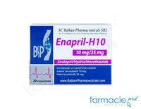Enapril-H10 comp.10 mg + 25 mg N20 (Balkan)