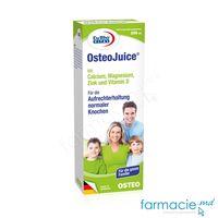OsteoJuice+Ca+Mg+Zn+Vitamina D sirop 200ml EuRho Vital