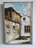 Старый Кишинев ( ул. Бернардацци), 35x23 см., холст, масло