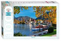 "Mozaic ""puzzle"" 1000 ""Bavaria. Lacul Tegernsee"", cod 40766"
