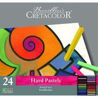 Set de pasteluri profesionale Carres Hard Cretacolor 24 cul.