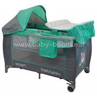 Baby Mix HR-8052-301 Манеж-кровать мятный