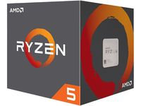 CPU AMD Ryzen 5 2600 2nd Gen.(3.4-3.9GHz, 6C/12T, L2 3MB, L3 16MB, 12nm, 65W), Socket AM4, Box