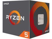 CPU AMD Ryzen 5 2600 2nd Gen.(3.4-3.9GHz, 6C/12T, L2 3MB, L3 16MB, 12nm, 65W), Socket AM4, Box