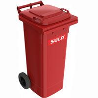 купить Контейнер для мусора 120 л, красный в Кишинёве