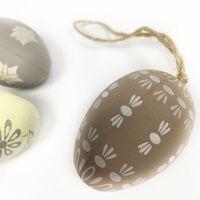 Яйцо среднее подвеска, 5 см