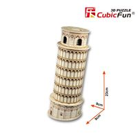 3D PUZZLE Tower of Pisa (Italy)