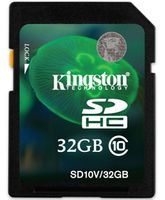 Kingston 32GB, SDHC Class10 300x