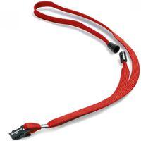 Durable Шнурок с клипсой DURABLE для бейджа красный