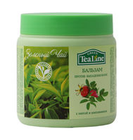 """Бальзам против выпадения волос """"Зеленый чай с мятой и шиповником"""" серии """"Tea Line"""","""