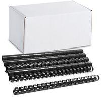 ARGO Пружина пластиковая ARGO A4/19мм, 100 штук, черная