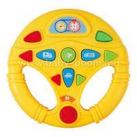 Baby Mix PL-430138 Игрушка Руль желтый