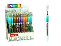 Ручка гелевая PT-272 soft ink,0.7mm, синяя