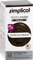 SIMPLICOL Intensiv - Espresso-Braun - Vopsea pentru haine si textile in masina de spalat, cafeniu espresso