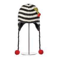 Шапка взрослая Knitwits Cherry Pilot Hat, A1339