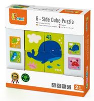 Viga 6-side Cube Puzzle - Sea (50161)