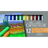 Set de pastel Hard Nature  Cretacolor  12 cul.