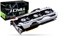 INNO3D / iChiLL GeForce GTX 1070 X4 / 8GB DDR5, 256bit