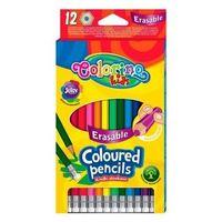 Цветные карандаши с резинком12 шт. Colorino