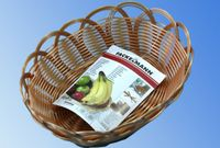 Хлебница плетеная овальная Fackelmann 23Х18Х9сm