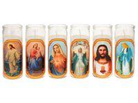 Подсвечник-стакан со свечей