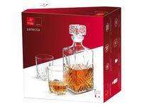 купить Набор штоф 1l и 6 стаканов для виски Selecta в Кишинёве