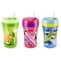 Поильник с трубочкой NUK Fun Cup (18 мес+) 300 ml