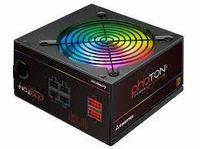 Блок питания ATX 750 Вт Chieftec PHOTON CTG-750C-RGB, 80PLUS, модульный кабель, активная коррекция коэффициента мощности, 120 мм, RGB