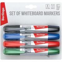 Berlingo Набор маркеров для досок BERLINGO 4 цвета