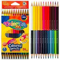 Цветные карандаши 24/12 шт. Colorino