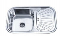 Кухонная  мойка  FABIANO  75  49  0.8  риф  левая