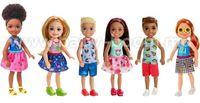 Barbie DWJ33 Кукла Челси и друзья в асс.