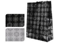 """купить Пакет подарочный """"Снежинки серебряные"""" 34.5X25X8.5сm в Кишинёве"""