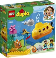 Lego Duplo Aventura cu submarinul