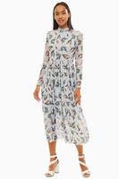 Платье TOM TAILOR Голубой с принтом 1013448