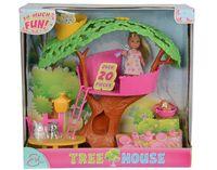 Simba Набор кукла Эви и Домик на дереве, 32 cm