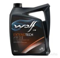 Масло трансмиссионное WOLF, ATF DII EXTENDTECH 5L