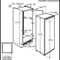 Congelator incorporabil Electrolux EUN2244AOW