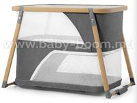 KinderKraft Кровать-манеж 4-в-1 Sofi серый
