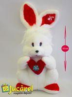 Средний заяц с сердцем арт. 6-43-1