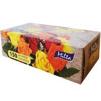 Салфетки косметические MILTA 2-слойная, 150 штук