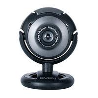 купить Camera SVEN IC-310, Microphone, 0.3Mpixel - 8Mpixel, UVC, USB2.0, Black в Кишинёве