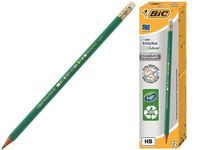 Set creioane simple cu radiera 12buc BIC ECO Evolution