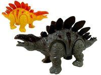 Динозавр (стегозавр) шагающий музыкальный 19cm