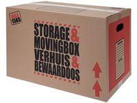 Коробка картонная для хранения и транспортировки 47.5X32.7X3